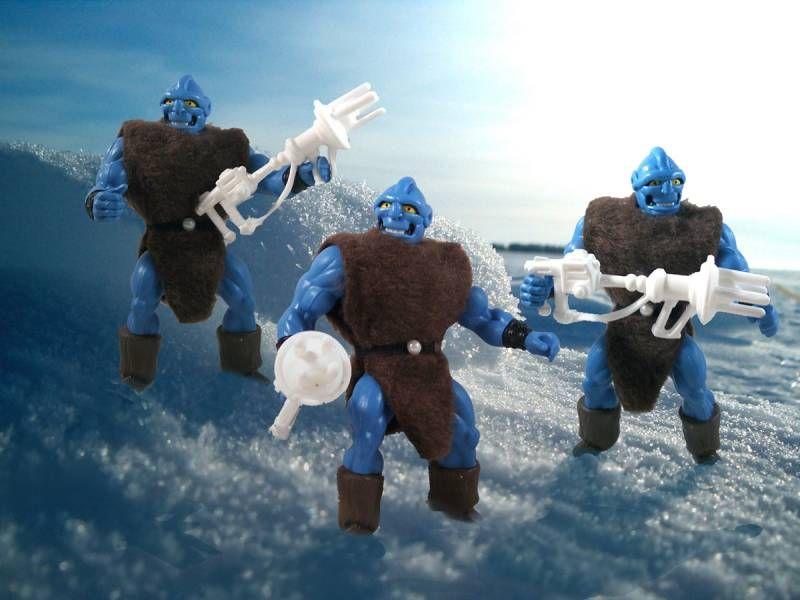 Masters of the Universe - Ice Troll / Trollos (carte USA) - Barbarossa Art