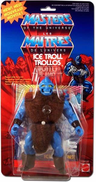 Masters of the Universe - Ice Troll (Europe card) - Barbarossa Art
