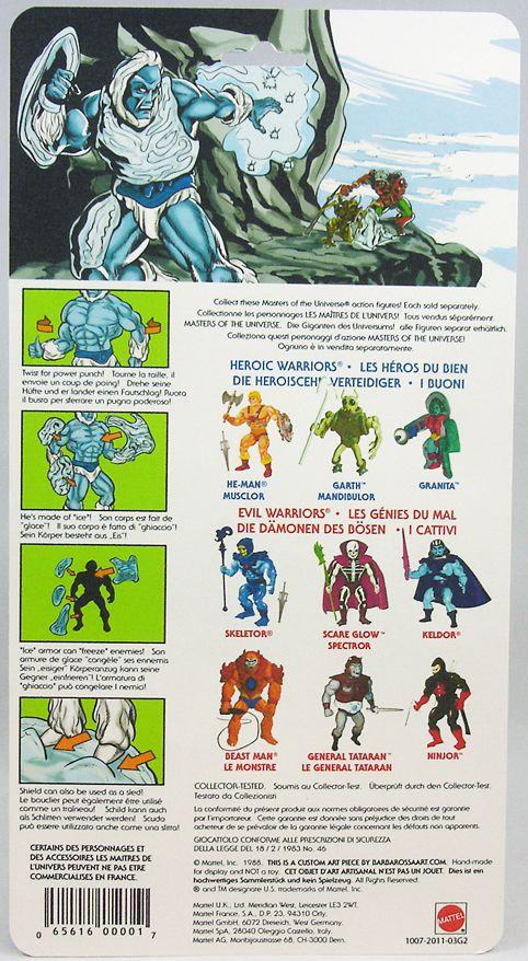 Masters of the Universe - Icer / Glaçor (carte Europe) - Barbarossa Art