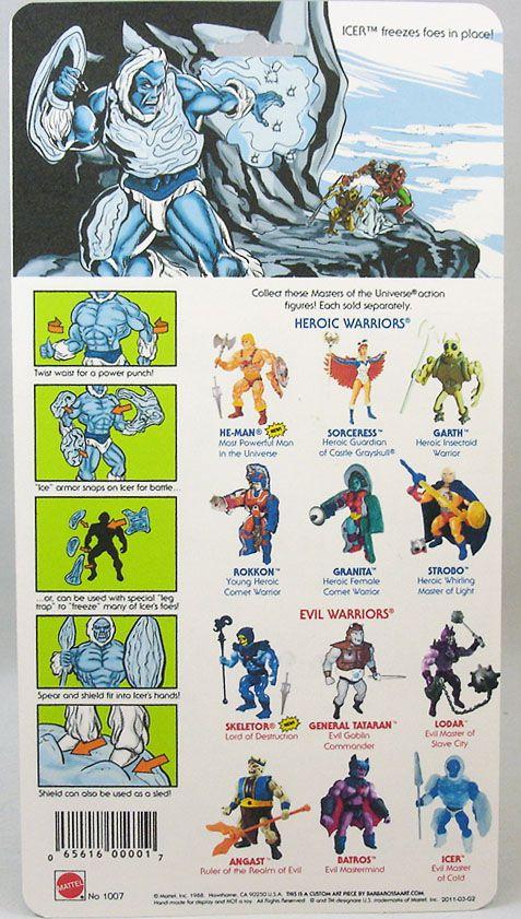 Masters of the Universe - Icer / Glaçor (carte USA) - Barbarossa Art
