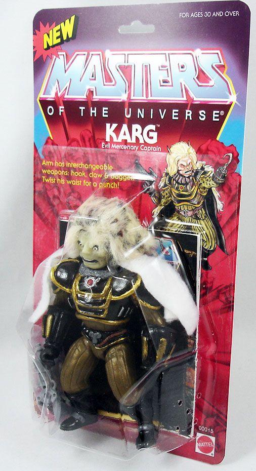 Maîtres de l'univers - Karg (carte Etats-Unis) Barbarossa Art