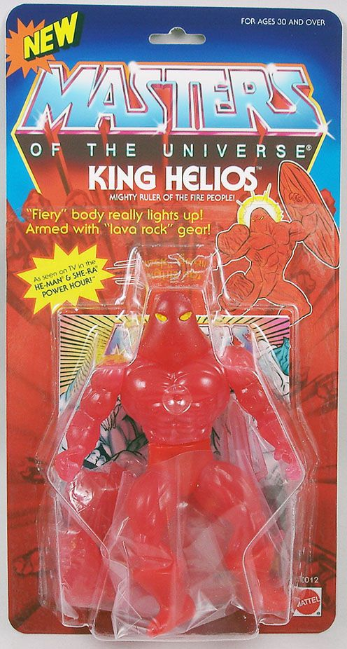 Masters of the Universe - King Helios / Roi Helios (carte USA) - Barbarossa Art