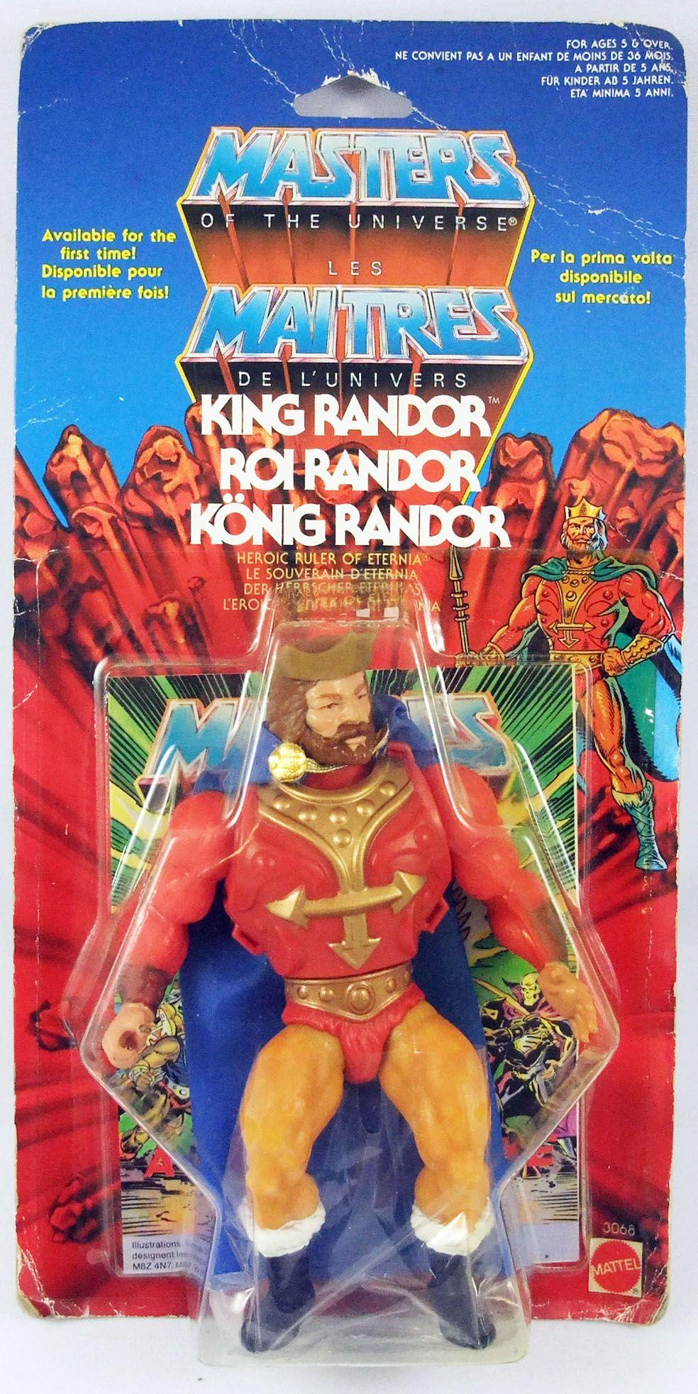 Masters of the Universe - King Randor / Roi Randor (carte Europe)