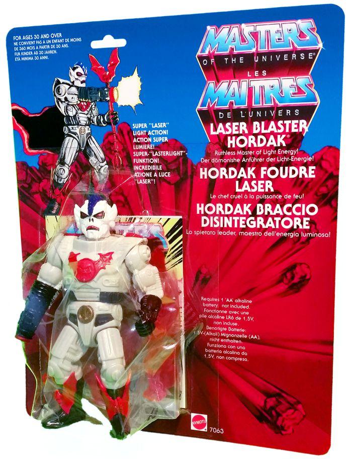 Masters of the Universe - Laser Blaster Hordak / Hordak Foudre Laser (carte Europe) - Barbarossa Art