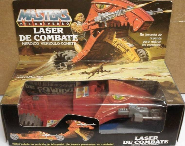 Masters of the Universe - Laser Bolt (Spain box)