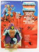 Masters of the Universe - Laser Light Skeletor / Skeletor Eclat Funeste (carte Europe)