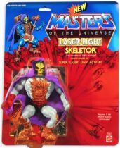 Masters of the Universe - Laser Light Skeletor / Skeletor Eclat Funeste (carte USA) - Barbarossa Art