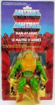 Masters of the Universe - Man-At-Arms / Le Maitre d\'Armes (carte 8-back Canada)