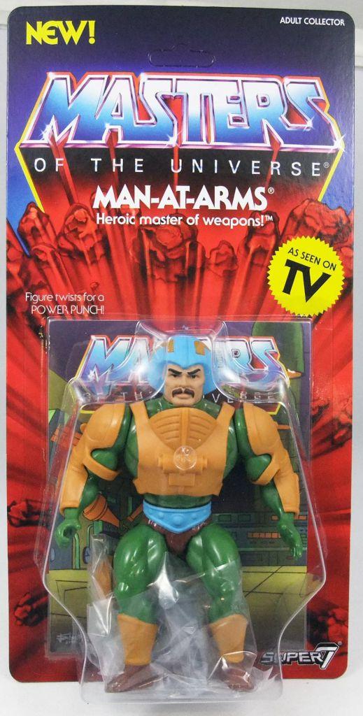 MOTU Vintage WAVE 2 Man-at-Arms /& Teela Super 7 S7 He-man Figure Filmation