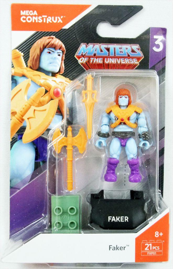 Masters of the Universe - Mega Construx Heroes mini-figure - Faker