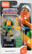 Masters of the Universe - Mega Construx Heroes mini-figure - Man-At-Arms