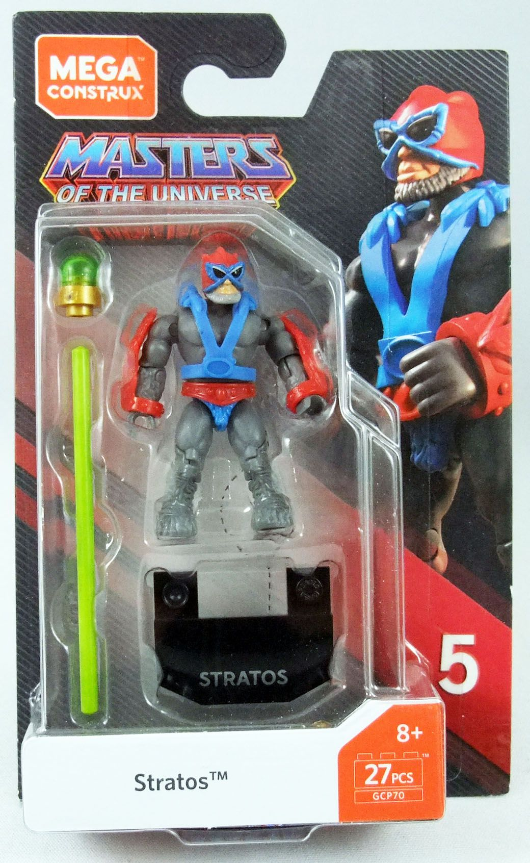 Masters of the Universe - Mega Construx Heroes mini-figure - Stratos