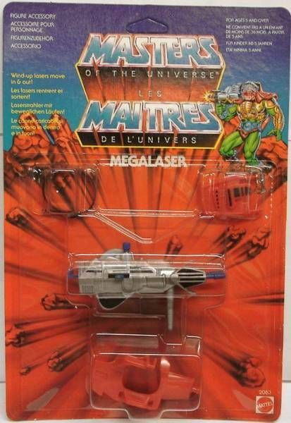 Masters of the Universe - Megalaser (Europe card)