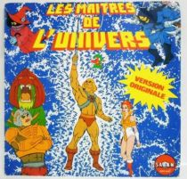 Masters of the Universe - Mini-LP Record - Original French TV series Soundtrack - Saban Records 1983