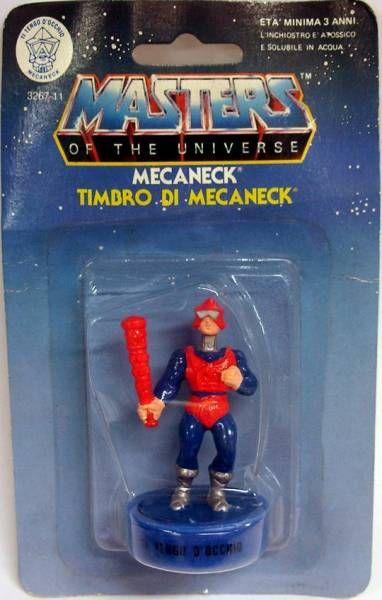 Masters of the Universe - Mini Stamp - Mattel series 1 - Mekaneck