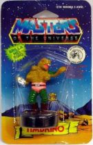 Masters of the Universe - Mini Stamp - Mattel series 2 - King Hiss