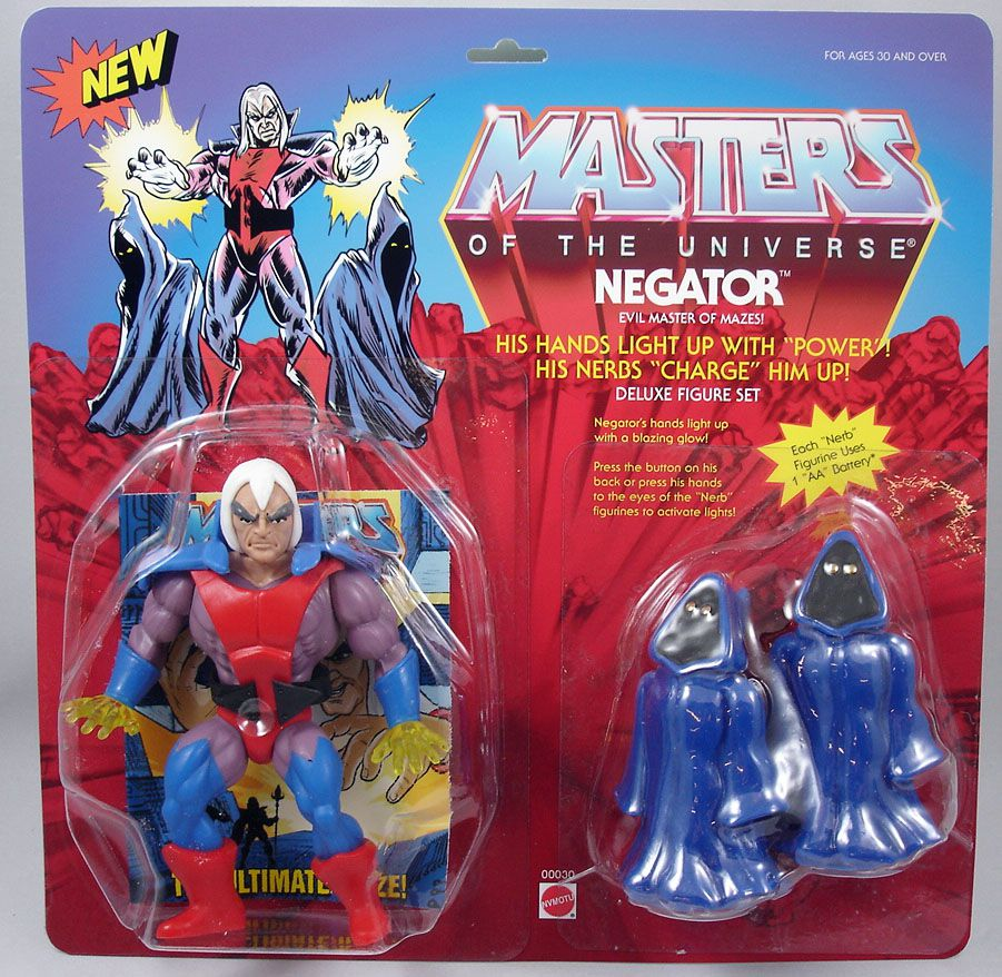 Masters of the Universe - Negator (carte USA) - Barbarossa Art