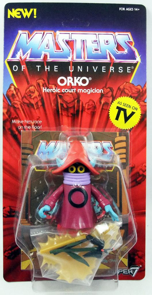Masters of the Universe - Orko (Filmation New Vintage) - Super7