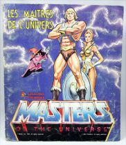 Masters of the Universe - Panini Stickers collector book