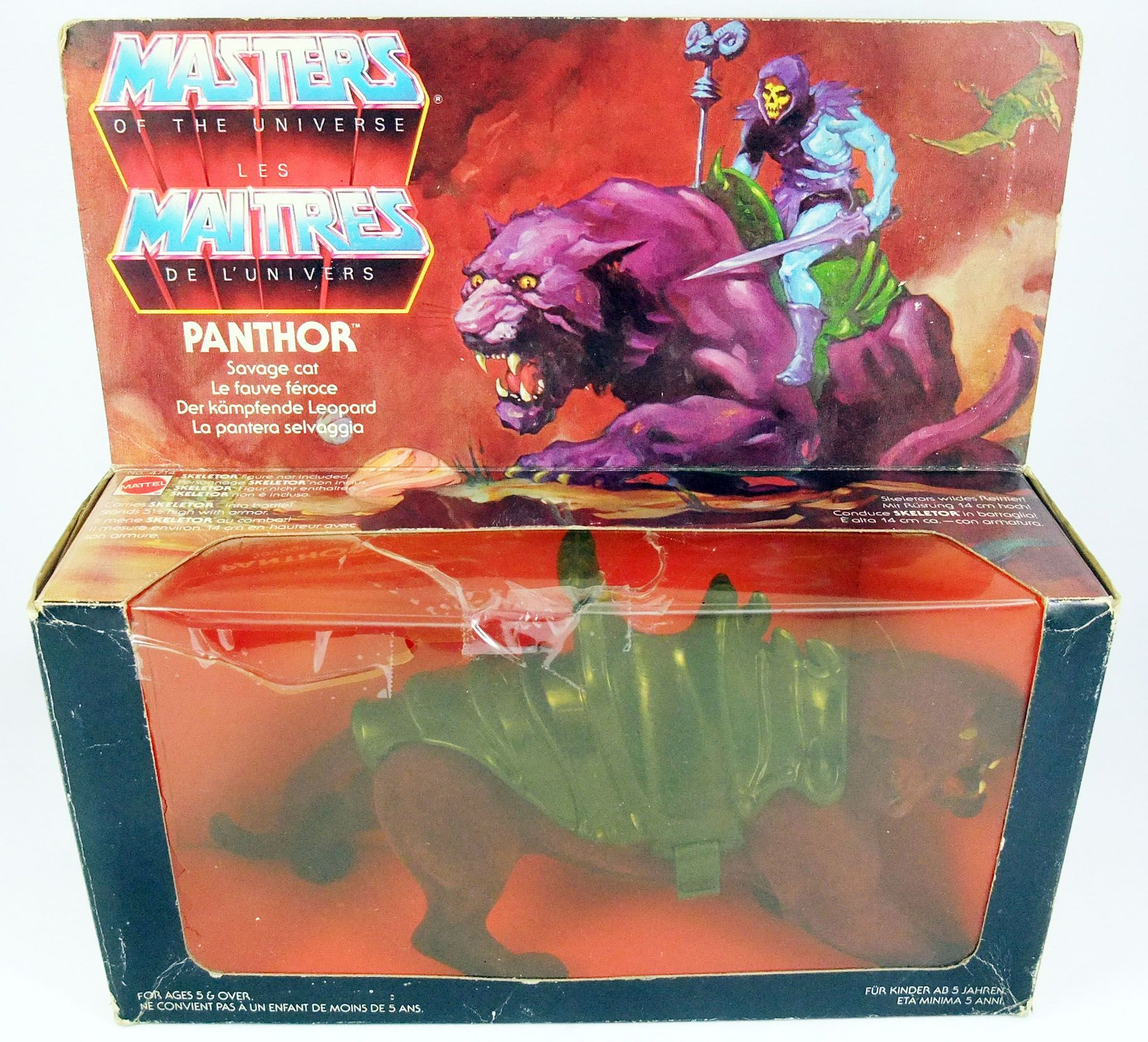 Masters of the Universe - Panthor (boite Europe)