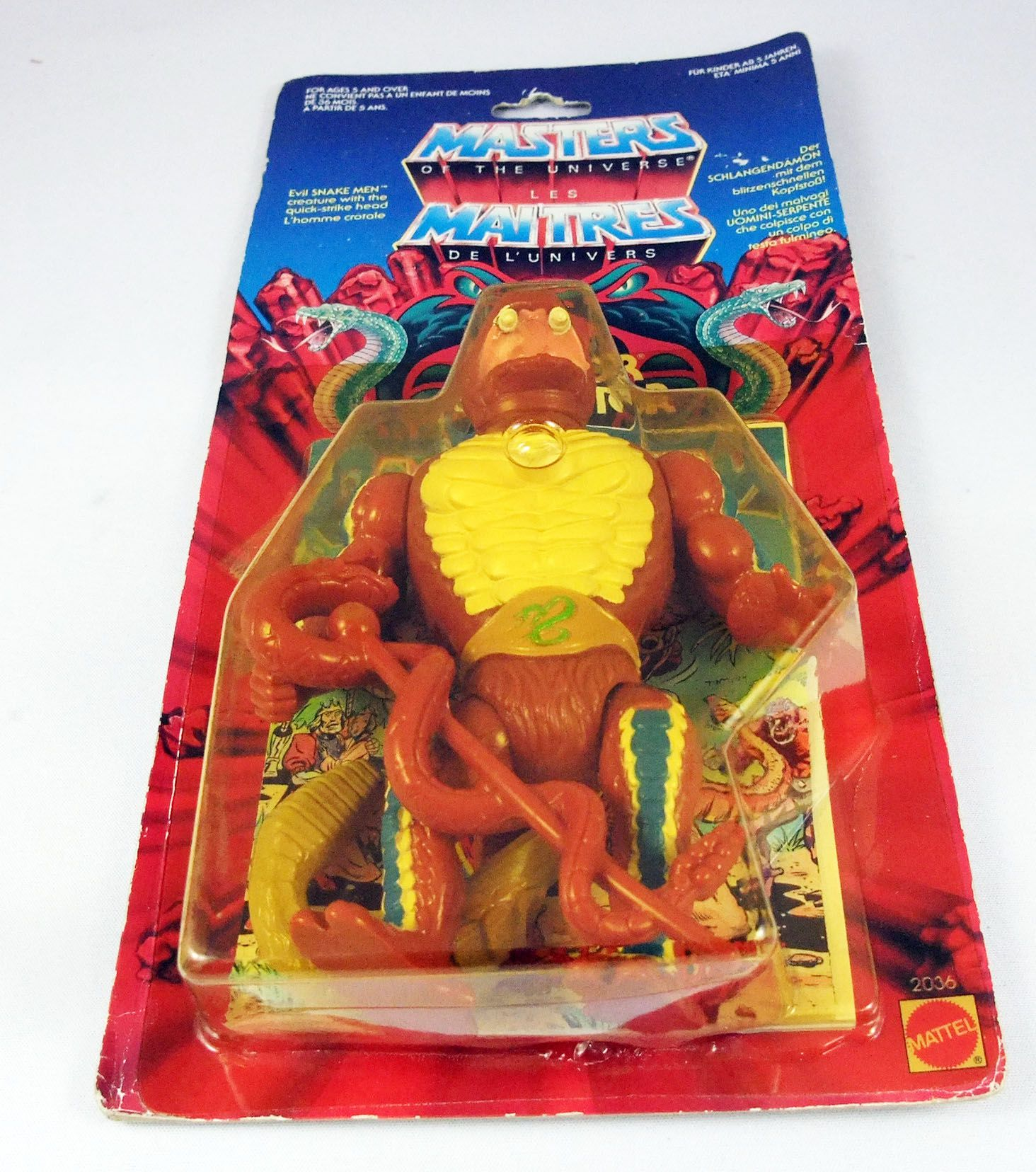 Masters of the Universe - Rattlor / Serpentor (carte Europe)