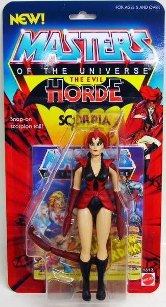 Masters of the Universe - Scorpia (USA card)