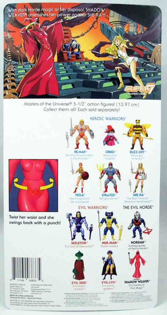 Masters of the Universe - Shadow Weaver (Filmation New Vintage) - Super7