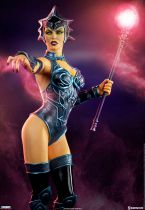 "Masters of the Universe - Sideshow Collectibles - Evil-Lyn (classic colors) - 14"" resin statue"