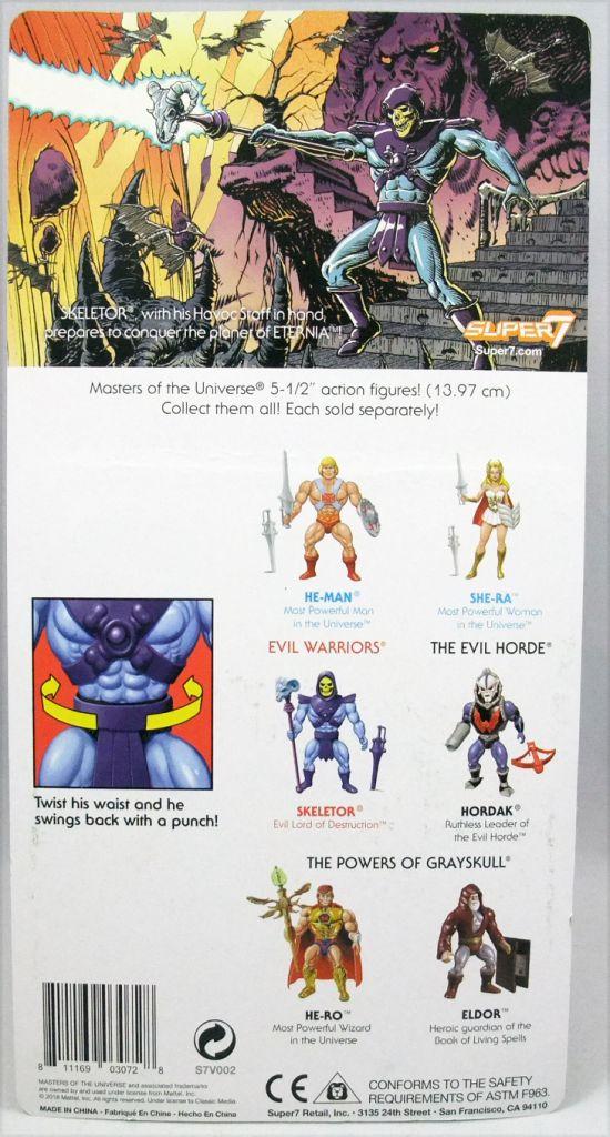 Masters of the Universe - Skeletor (Filmation New Vintage) - Super7