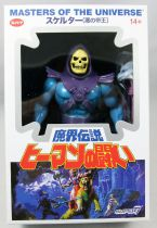 "Masters of the Universe - Skeletor ""Japan Box\"" (Filmation New Vintage) - Super7"
