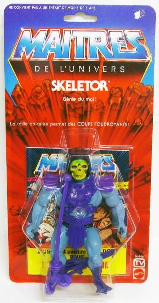 Masters of the Universe - Skeletor (TV 6-back France card)