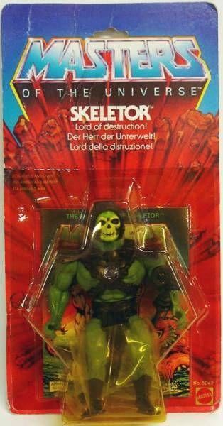 Masters of the Universe - Skeletor (Unilogo 8-back Europe card)