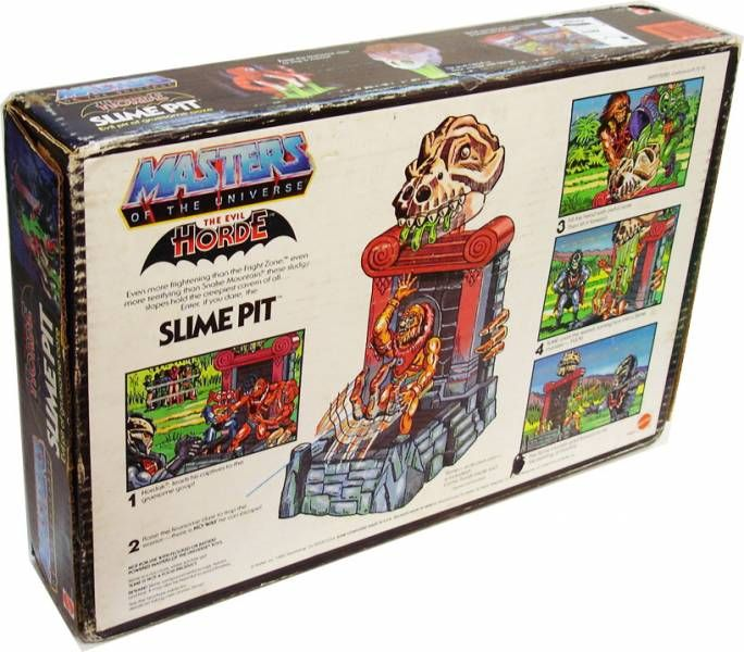 Masters of the Universe - Slime Pit (USA box)