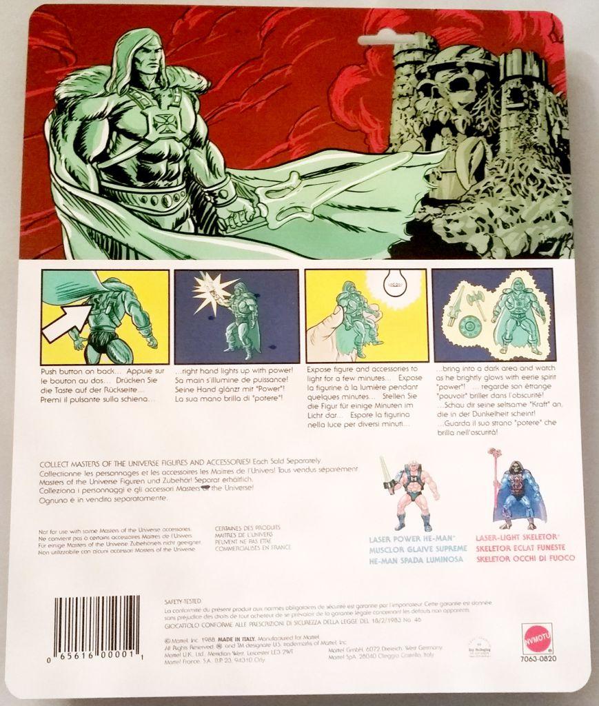 Masters of the Universe - Spirit of King Grayskull / L\'Esprit du Roi Grayskull (carte Europe) - Barbarossa Art