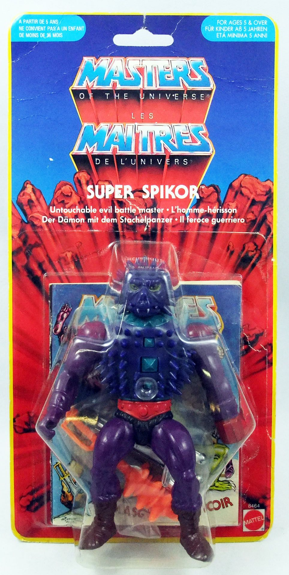 Masters of the Universe - Super Spikor (carte Yellow Border)