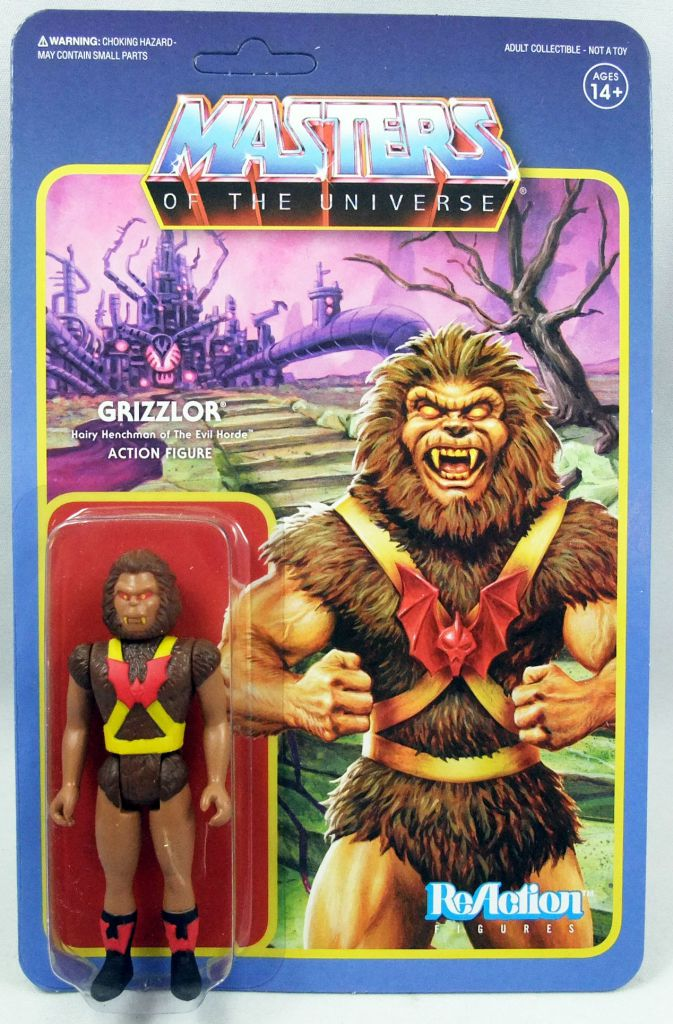 """Masters of the Universe - Super7 action-figure - Grizzlor \""""original toy colors\"""" (Power-Con exclusive)"""