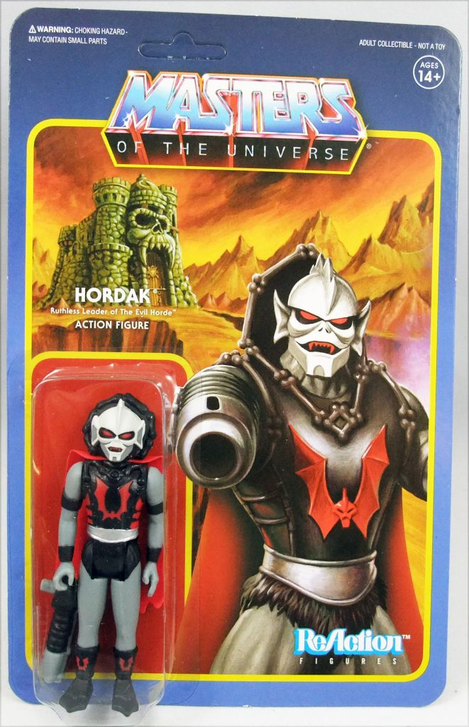 Super 7 Hordak Masters of the Universe RéAction Action Figure