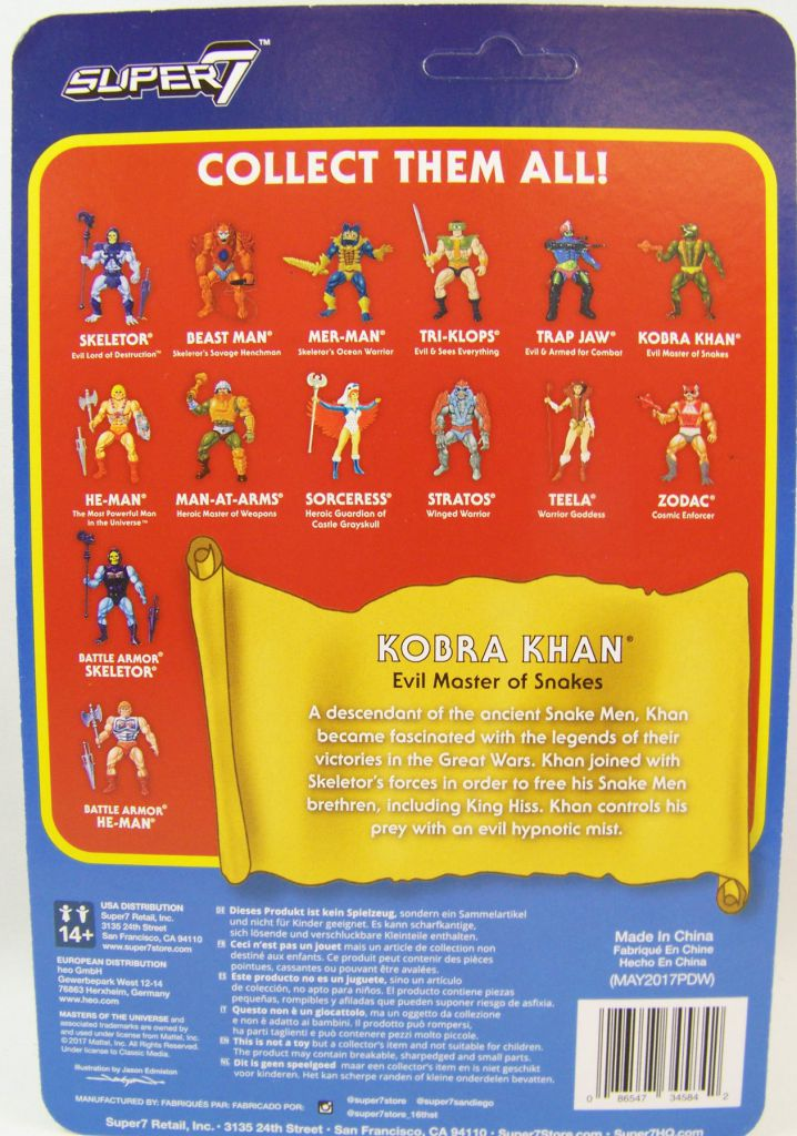 Masters of the Universe - Super7 action-figure - Kobra Khan