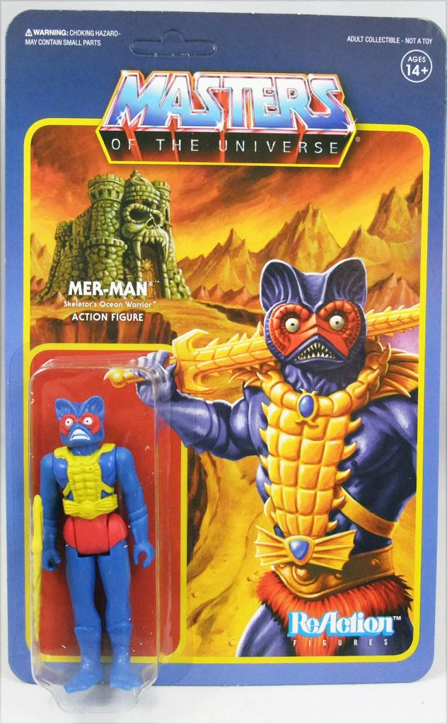 "Masters of the Universe - Super7 action-figure - Mer-Man ""Blue variant colors\"""