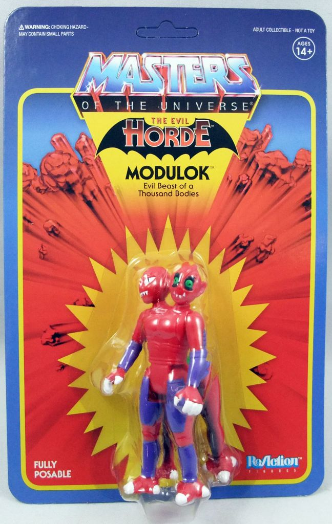 "Masters of the Universe - Super7 action-figure - Modulok \""original toy version\"" (Power-Con exclusive)"