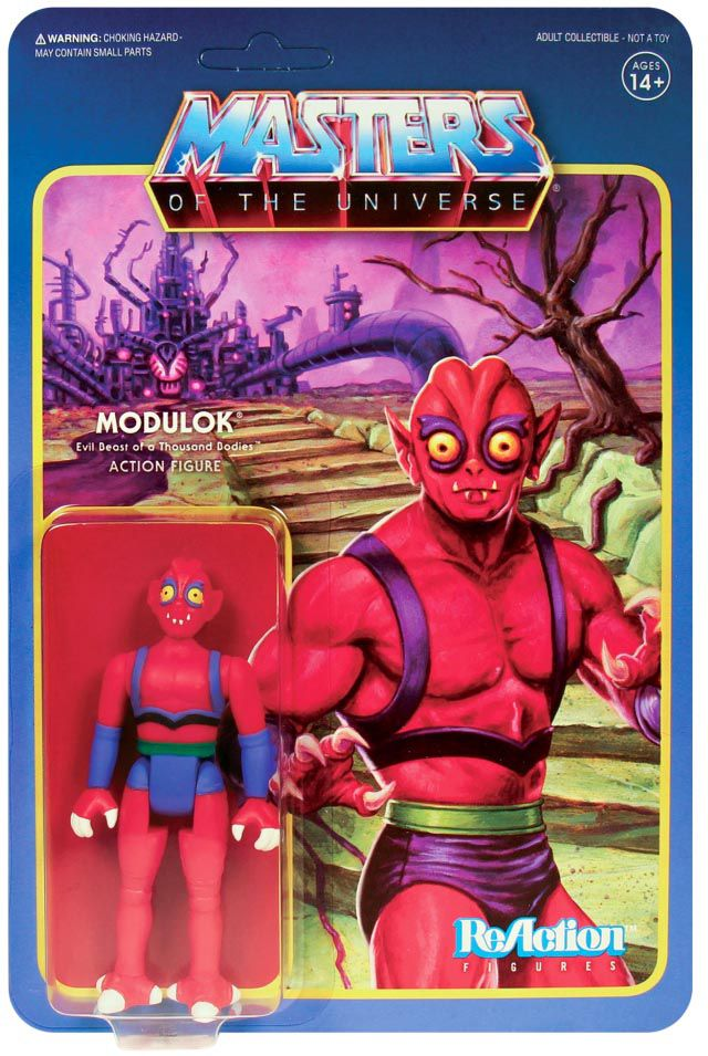 """Masters of the Universe - Super7 action-figure - Modulok \""""version A\"""""""