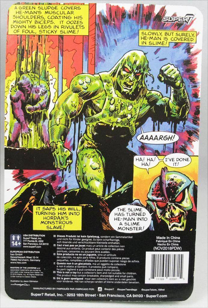 Masters of the Universe - Super7 action-figure - Slime Pit He-Man