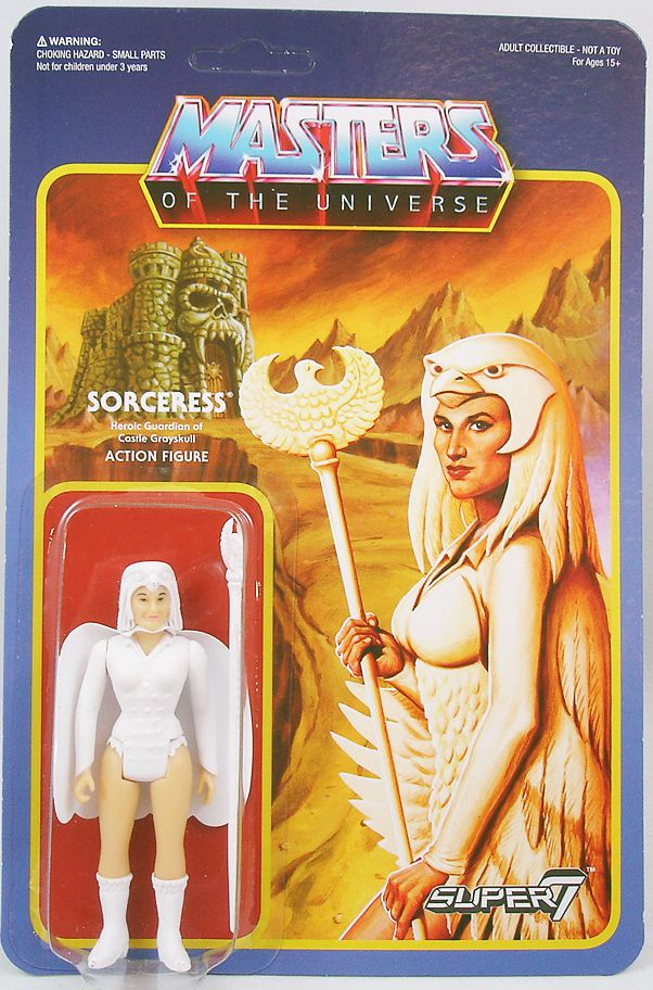 """Masters of the Universe - Super7 action-figure - Sorceress \""""Temple of Darkness variant\"""""""