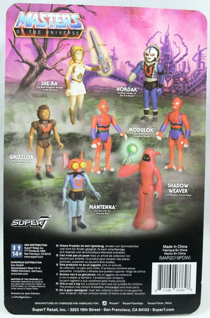 Masters of the Universe - Super7 action-figure - Stinkor