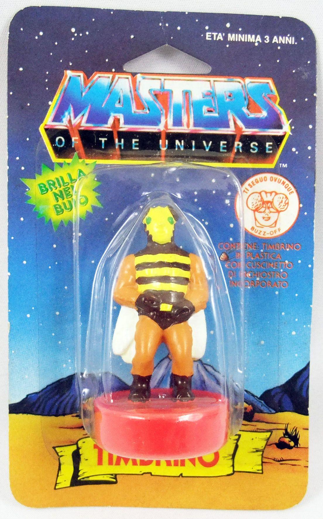 Masters of the Universe - Tampon-encreur - Mattel série 2 - Buzz-Off / Buzz