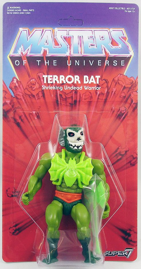 Masters of the Universe - Terror Bat (carte USA) - Super7