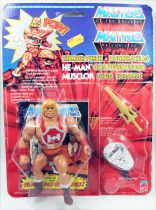 Masters of the Universe - Thunder Punch He-Man / Musclor Super Tonnerre (carte Europe France)