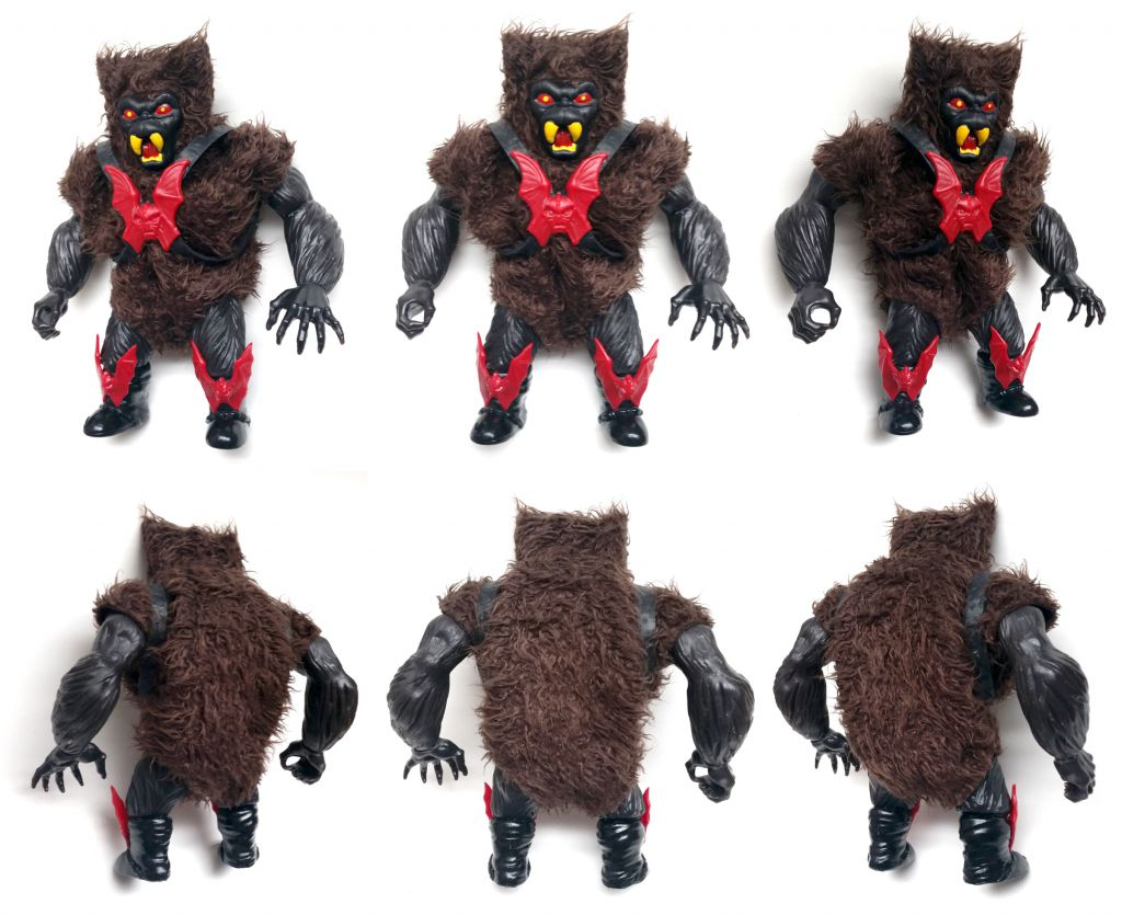 "Masters of the Universe - Unleashed Grizzlor ""black version\"" (Europe card) - Barbarossa Art"