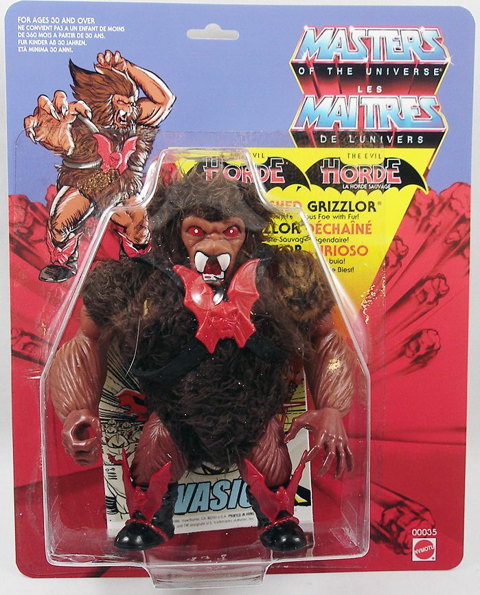 """Masters of the Universe - Unleashed Grizzlor \""""brown version\"""" (Europe card) - Barbarossa Art"""