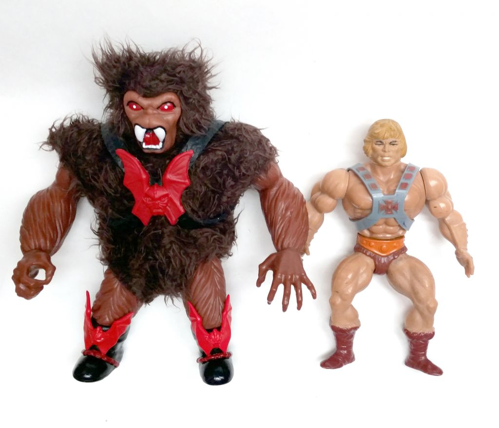 "Masters of the Universe - Unleashed Grizzlor Déchainé ""brown\"" (carte Europe) - Barbarossa Art"